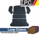 VW Carpet Kit 5pc. (Rear Well Area) 1965-72 VW Bug Sedan