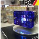 Micro Mini Chrome Blue Light (Single Filament)