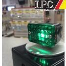 Micro Mini Chrome Green Light (Single Filament)