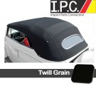 1967.5-1972 Bug Convertible Top Cover - Twill Grain (Canvas Substitute)