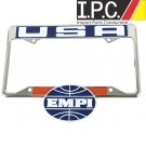EMPI USA License Plate Frame Rear  Ea.