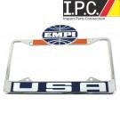EMPI USA License Plate Frame Front Ea.