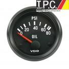 VDO Oil Pressure Gauge 0-80 PSI