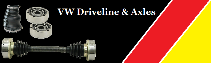 VW Driveline & Axles
