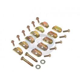VW Bug, SB 26pc Floor Pan Hardware Kit - VW Sheet Metal - VW Body