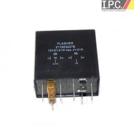 Turn Signal Flasher Relay 12 Volt 9 Prong I P C  VW Parts, VW Bug