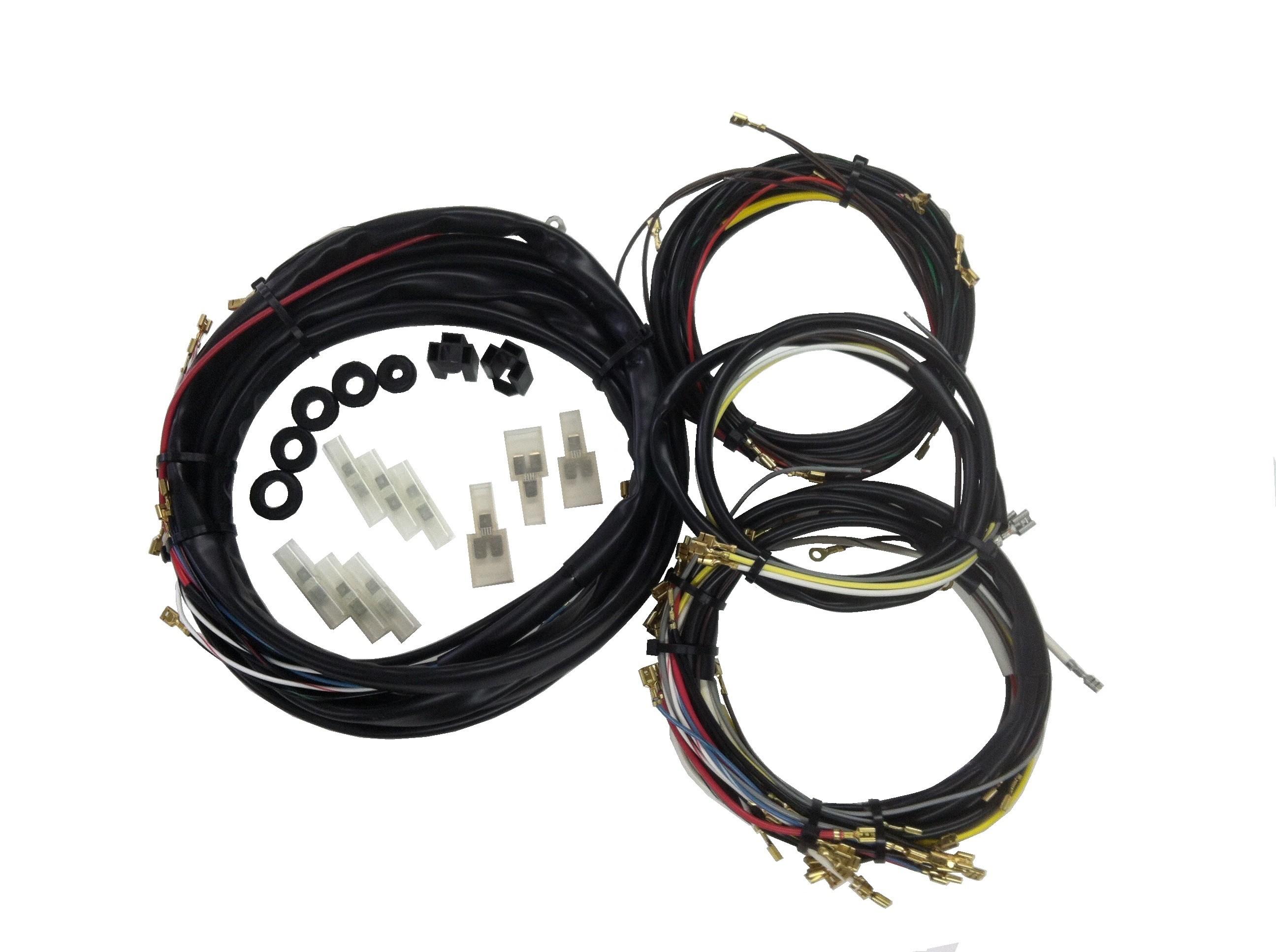 Wiring Works I P C  Vw Parts  Bug  Bus  Type 3  Karmann