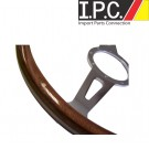 Universal Classic Wooden Steering Wheel 9 Bolt Mount Style